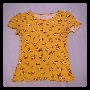 Tops - old timey yellow shirt :))